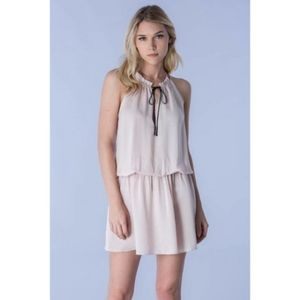 Do + Be NWT Drop Waist Tie Closure Dress